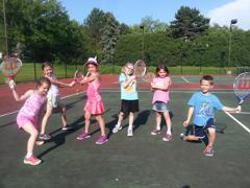 junior tennis class